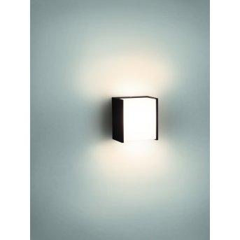 Applique murale Philips myGarden MACAW LED Noir, 1 lumière