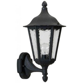 Applique extérieure Albert 1818 Noir, 1 lumière