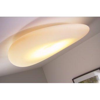 Plafonnier Linea Light Mr.Magoo Blanc, 1 lumière