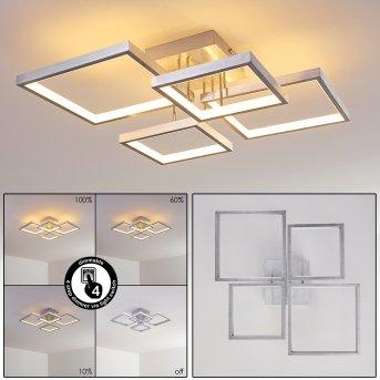 Plafonnier Bacolod LED Aluminium, 1 lumière