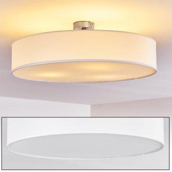 Plafonnier Foggia Nickel mat, 3 lumières