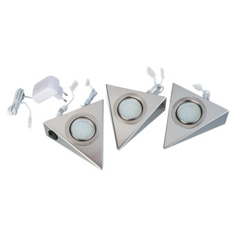 lampes pour bandeaux Nino Leuchten LEDO Blanc, 1 lumière