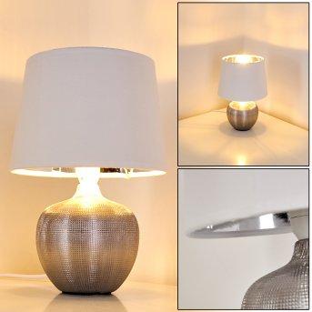 Lampe à poser Stampa Argenté, 1 lumière