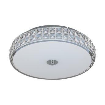 Plafonnier Eglo CARDILLIO LED Chrome, Aspect cristal, 1 lumière