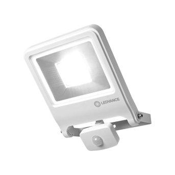 Applique murale d'extérieur LEDVANCE POLYBAR Blanc, 1 lumière, Détecteur de mouvement