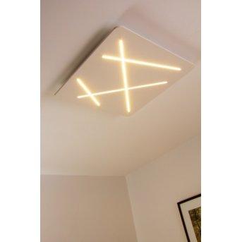 Plafonnier Linea Light LED Blanc, 1 lumière
