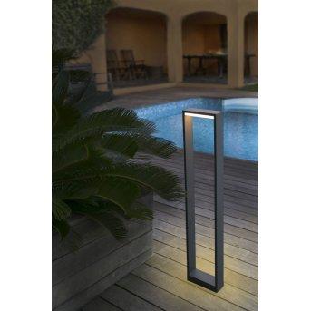 Eclairage de chemin Faro Alp LED Anthracite, 1 lumière