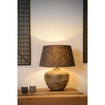 Lampe de table Lucide RAMSES Rouille, 1 lumière