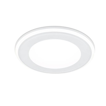 Spot encastrable Trio Leuchten AURA LED Blanc, 1 lumière