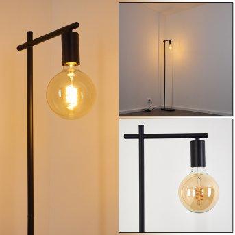 Lampadaire Pamunkey Noir, 1 lumière