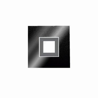 Applique murale / Plafonnier Grossmann KARREE LED Noir, Titane, 1 lumière