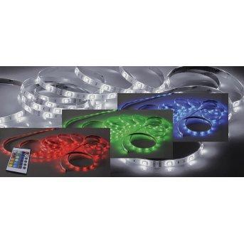 Bandes LED Paul Neuhaus TEANIA Multicolore, 1 lumière, Télécommandes, Changeur de couleurs