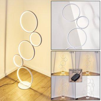 Lampadaire Rodekro LED Blanc, 1 lumière