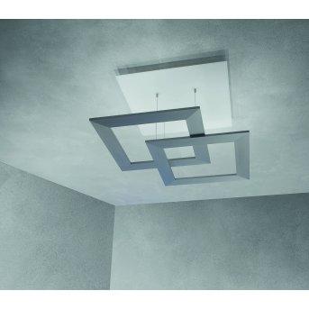 Plafonnier Escale ZEN D2W LED Gris, 10 lumières