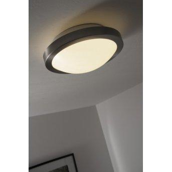 Plafonnier Bologna LED Blanc, 1 lumière