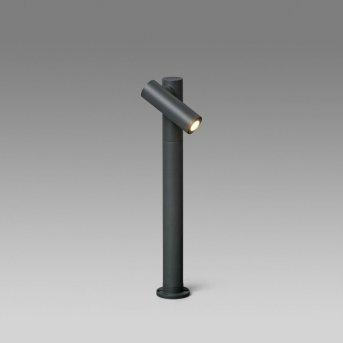 Borne lumineuse Faro Barcelona Spy-2 Gris, 1 lumière