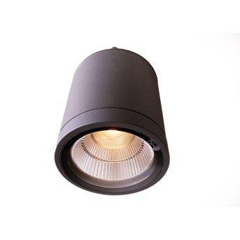 Plafonnier Deko Light Mobby LED Anthracite, 1 lumière