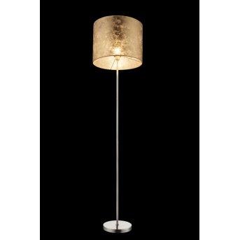 Lampadaire Globo Nickel mat, 1 lumière