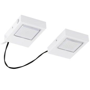 Lampe à encastrer Eglo LAVAIO LED Blanc, 2 lumières