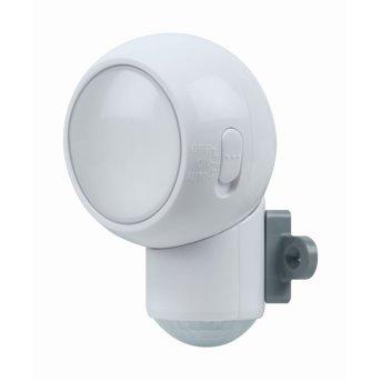 Applique murale LEDVANCE SPYLUX Blanc, 1 lumière, Détecteur de mouvement