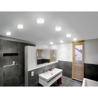 Plafonnier/Applique murale Helestra YUMA LED Blanc, 1 lumière