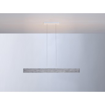 Suspension Escale VITRO LED Gris, Aluminium, 1 lumière