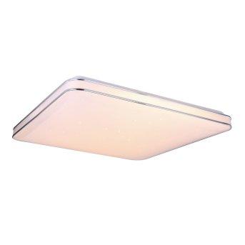 Plafonnier Globo LASSY LED Blanc, 1 lumière, Télécommandes