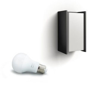 Applique murale Philips Hue White Turaco Anthracite, 1 lumière