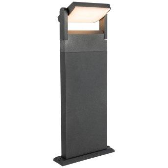 Lampadaire d'extérieur AEG Grady LED Anthracite, 1 lumière