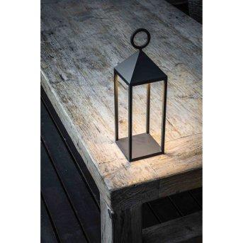 Lampe à poser Faro Barcelona Argus LED Anthracite, 1 lumière