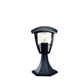 Borne d'éclairage Philips myGarden CREEK Noir, 1 lumière