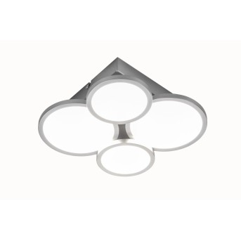Plafonnier Nino-Leuchten NEO LED Nickel mat, 4 lumières