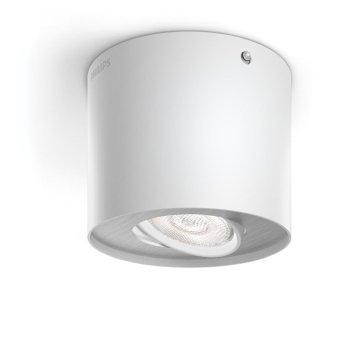 Plafonnier Philips Phase LED Blanc, 1 lumière