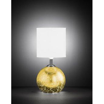 Lampe à poser Wofi CARMEN Or, 1 lumière