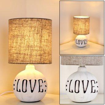 Lampe à poser Seon LOVE Blanc, 1 lumière