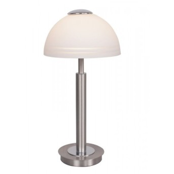 Lampe à poser Wofi CLASS LED Nickel mat, 1 lumière