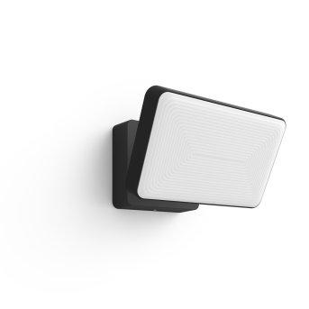 Projecteur Philips Hue White Welcome LED Noir, 1 lumière, Changeur de couleurs
