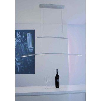 Suspension Bopp ARCO LED Aluminium, 4 lumières