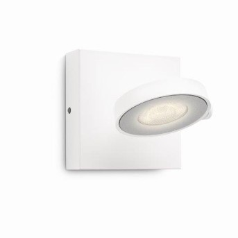 Applique murale Philips Clockwork LED Blanc, 1 lumière