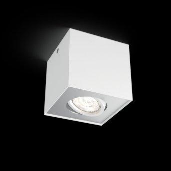 Plafonnier Philips Box LED Blanc, 1 lumière