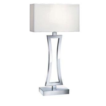 Lampe à poser Searchlight CUSION Chrome, 1 lumière