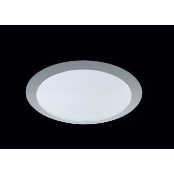 Plafonnier Trio 6265 LED Blanc, Titane, 1 lumière