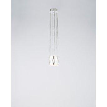 Lustre Serien Lighting ZOOM LED Acier inoxydable, 1 lumière