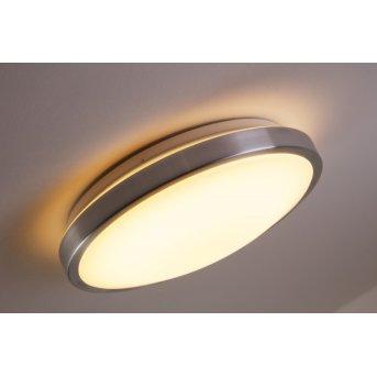 Plafonnier Wutach LED Aluminium, 1 lumière