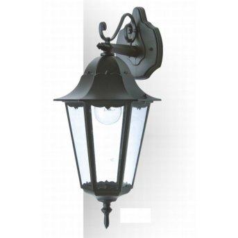 Applique extérieure LUTEC BRISTOL Noir, 1 lumière