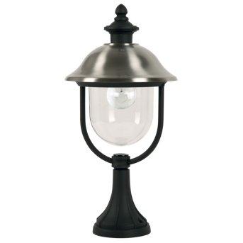 Borne lumineuse KS Verlichting Bologna Noir, 1 lumière