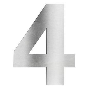 Numéros de maison LCD 4 Acier inoxydable