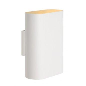 Applique Lucide OVALIS Blanc, 2 lumières