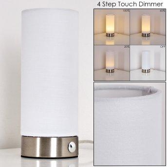 Lampe à poser Osogna LED Nickel mat, 1 lumière