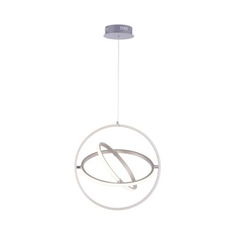 Suspension Leuchten-Direkt JELLA LED Nickel mat, 3 lumières